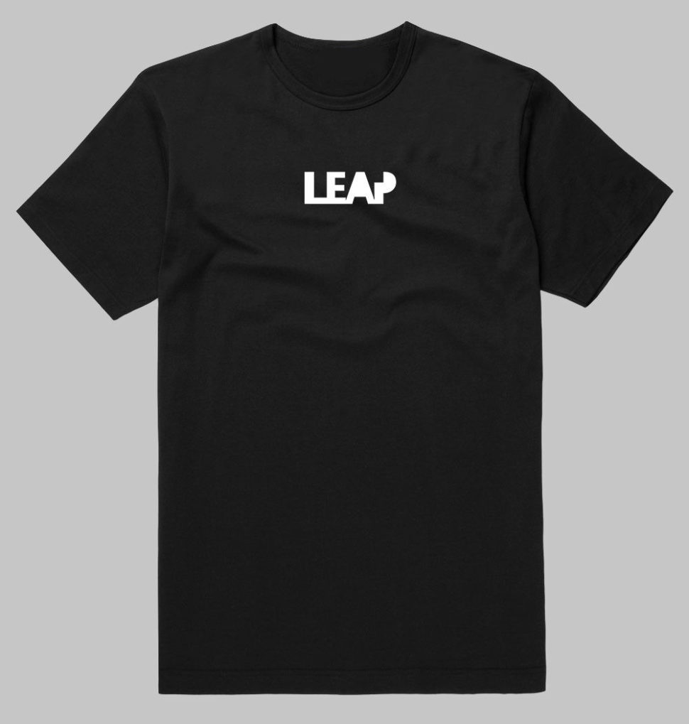 leap parkour tshirt